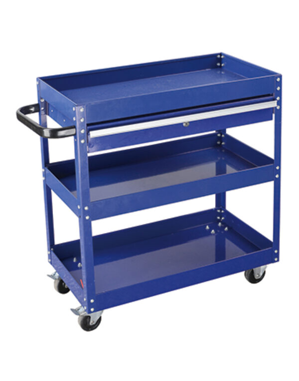 Trolley, tool trolley, trolley with casters