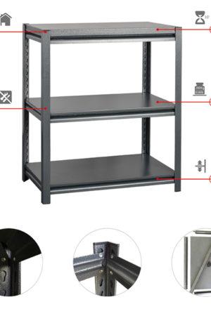 rivet concealed shelf